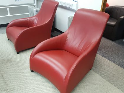 B & B Italia Kalos Lounge Chairs