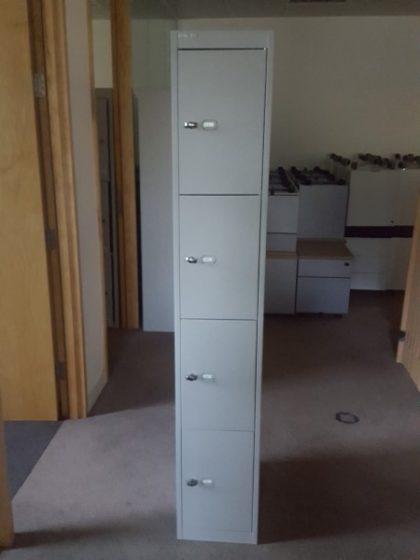 Bisley Grey Steel Lockers