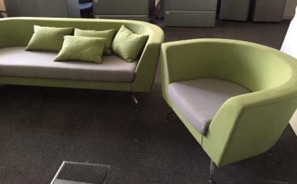 Orangebox Reception Sofa & Armchair Set