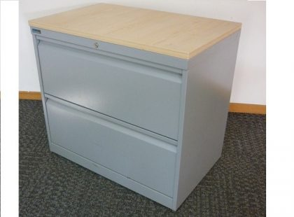 2-Drawer Metal Side Filers