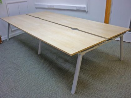Senator Maple Bench Desks