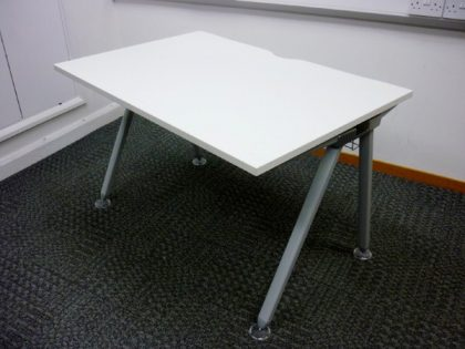 White Senator Desks