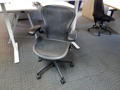 Herman Miller Aeron Chairs Size B