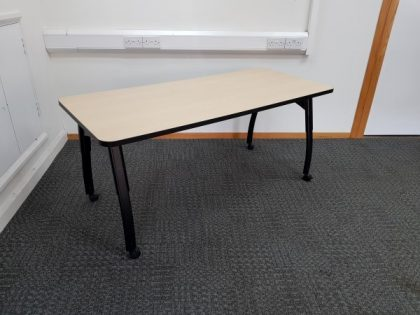 Rectangular Maple Desks