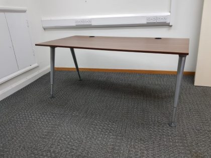 Herman Miller Abak Walnut Desks