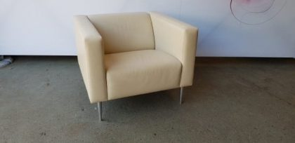 Davison Highley Leather Armchairs
