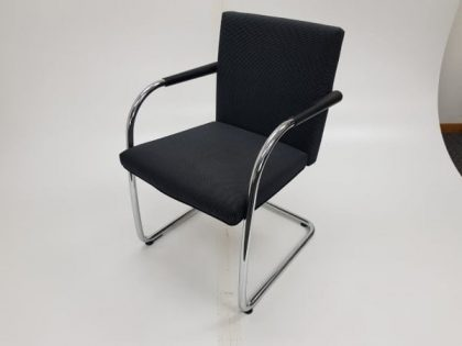 Vitra Visasoft Black Meeting Chairs