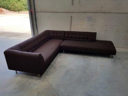 SCP Dark Brown Corner Sofa