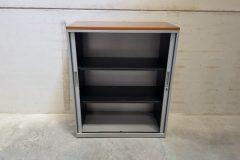 Medium Grey Tambour Cupboards (2)