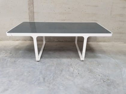 Low White Coffee Table
