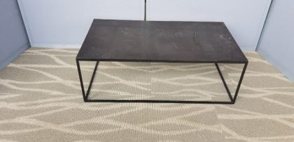 Black Slate Veneer Coffee Tables