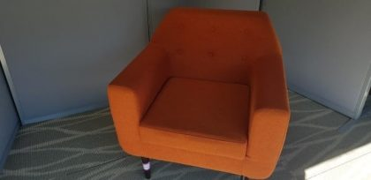 Orange Lounge Chairs