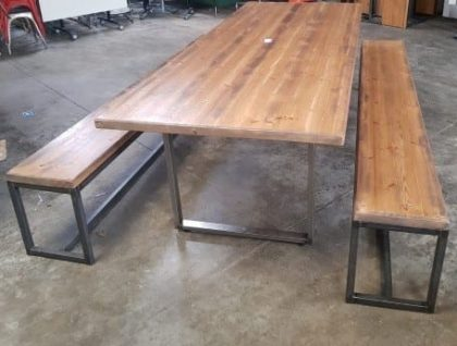 Café Table And Bench Sets