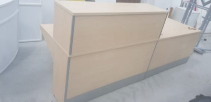 Maple Reception Desk