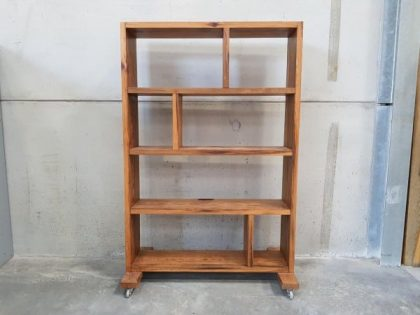 Rustic Mobile Bookcase