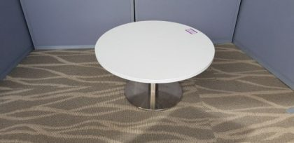 White Stem Base Coffee Tables