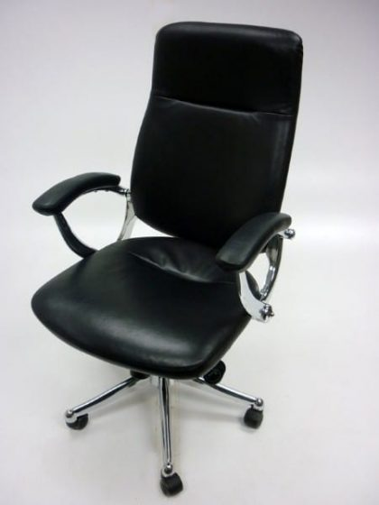 Black Leather Executive Chairs