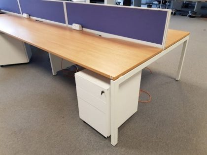 Oak Bench Desks