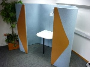 Used Allermuir Haven Acoustic Pod