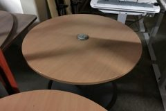 Used Round Beech Office Tables