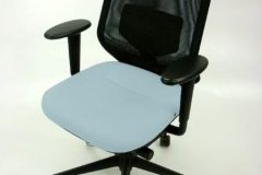 Vitra Medapal Mesh Operator Chairs - blue