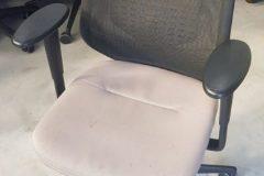 Vitra Medapal Mesh Operator Chairs - mushroom