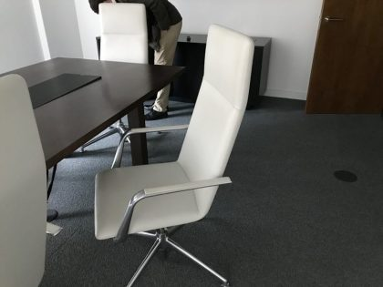 Brunner Finasoft Leather Conference Chairs