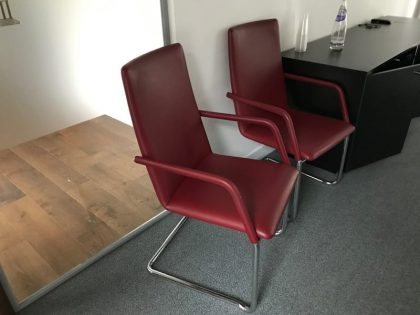 Brunner Finasoft Leather Meeting chairs