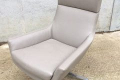 Used Marelli Joy Leather Swivel Armchairs