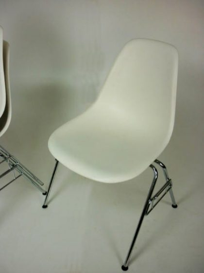 Vitra Eames DSS Plastic Side Chairs