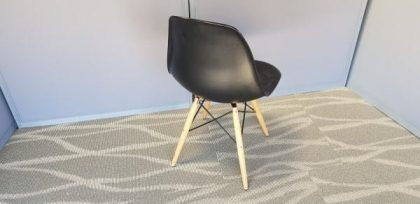 Vitra DSW Style Black Chairs