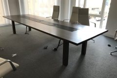 Dark Walnut Boardroom Tables