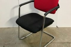 Used Red/Black Meeting Chairs