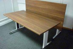 Used Sedus Brainstorm Walnut Flip Top Tables