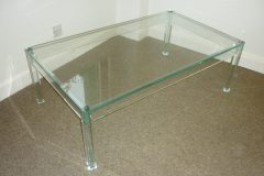 Used Rectangle Glass Top Coffee Table
