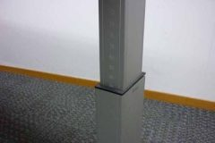 Bene Height-Adjustable Beech Desks