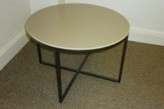 Marelli Circle Glass Coffee Table