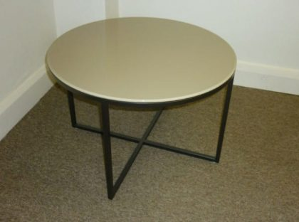 Marelli Circle Glass Coffee Table