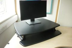 Used VARIDESK Pro 30 Sit/Stand Desk Adapters