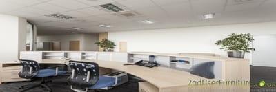 Used Office Reception Desks & Bench Desks