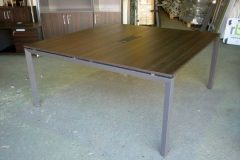 Square Wenge Meeting Table