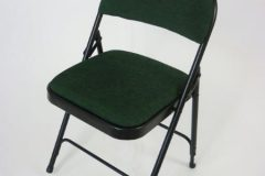 Used Dark Green Folding Chairs