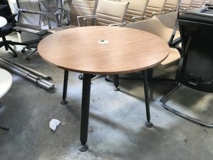 Herman Miller Abak Circular Meeting Table