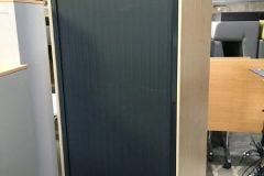 Used Maple 2070 mm Tambour Cupboard