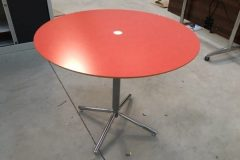 Allermuir Red Meeting Tables