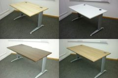 Brev Desk Frames With Various Tops