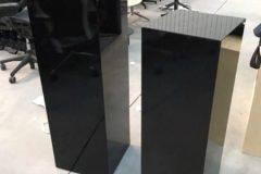 High Gloss Pedestal Stands